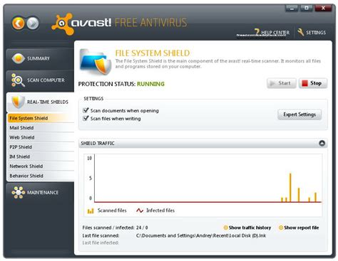 avast free antivirus free scan for viruses and will prevent pc threats