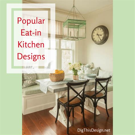 eat in kitchen decorating ideas the eat in kitchen design in modern day dig this design