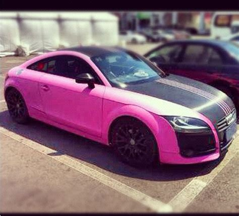white and pink audi pin pink audi tt on