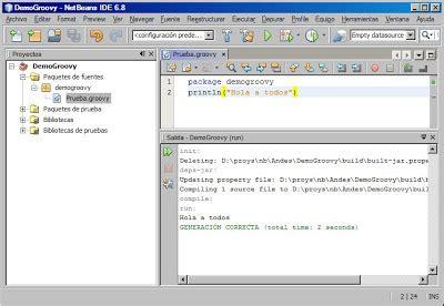 netbeans groovy tutorial groovy un lenguaje din 225 mico y 225 gil para la plataforma