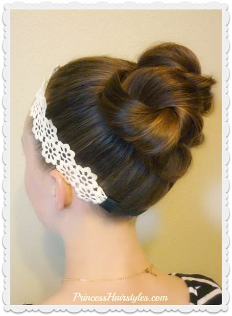 Hairstyles Accessories Bun by Hairstyles For Princess Hairstyles