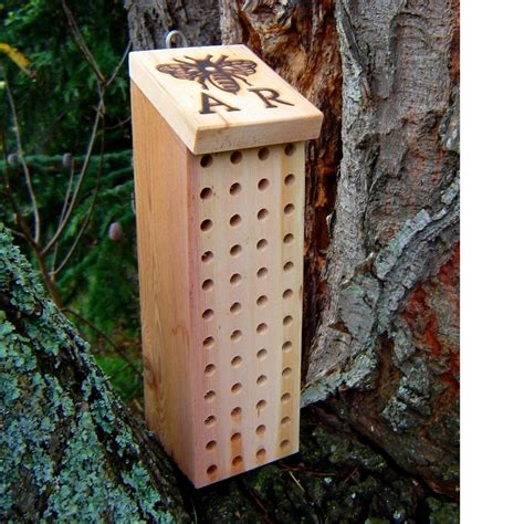 mason bee house mason bee house with ar bee brand reclaimed by andrewsreclaimed