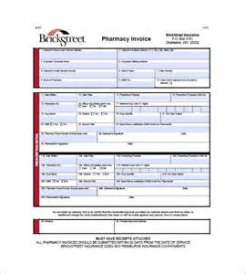 medical health invoice template 10 free sle