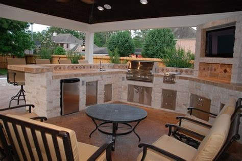 backyard grill houston outdoor grill areas by outdoor homescapes of houston