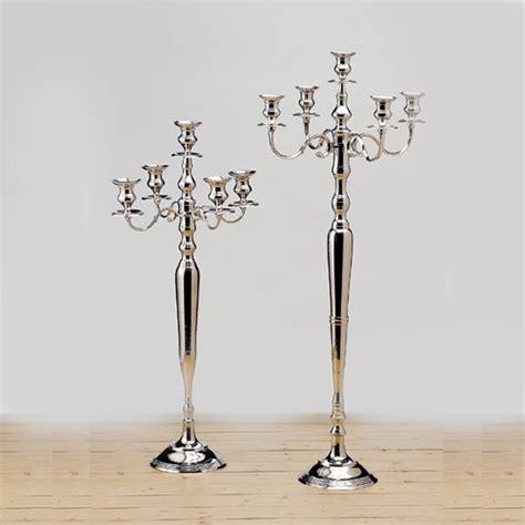 kerzenhalter glas hochzeit kerzenleuchter silber gold wei 223 kerzenst 228 nder kerzenhalter