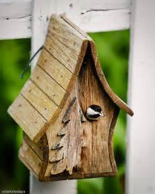 Adobe Style House Chickadee Birdhouse 1 A Small Bird House In My Friend