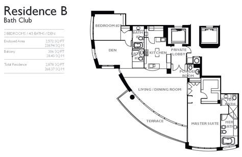 club floor plan bath club miami condo for sale rent realty