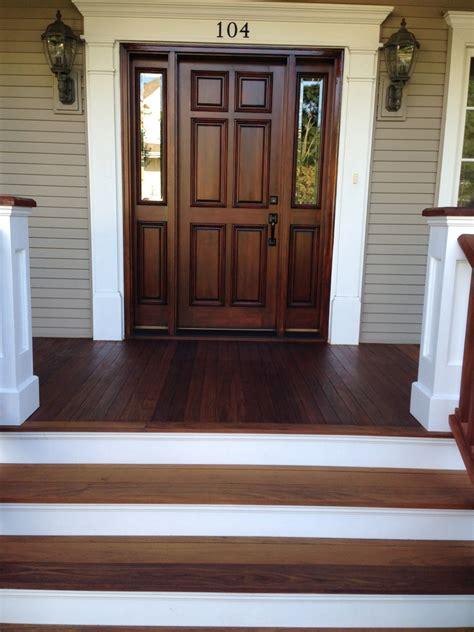 sanding ipe deck the refinishing of an ipe wood front porch floor
