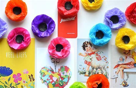 bloem ik blijf zelf magneet bloemen maken doe je zo