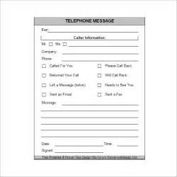 Telephone Memo Template 9 phone message templates free for word excel