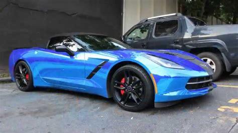 Corvette C7 R Bue whipaddict blue chrome c7 corvette stingray convertible