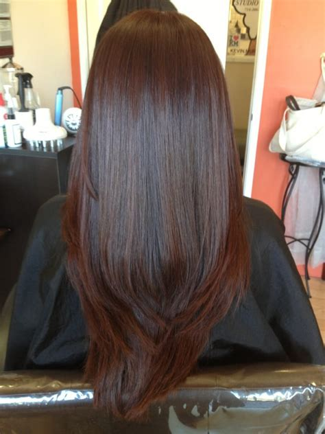 hair glaze color treatment pics hair after color glaze hair cut and brazilian blowout