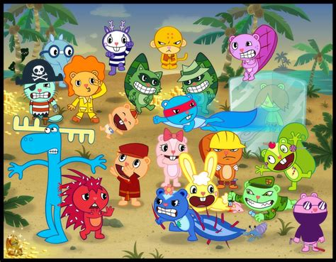 happy tree pictures happy tree f happy tree friends picture