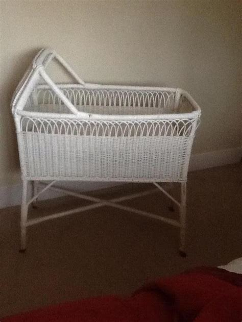 Wicker Cribs Local Classifieds Buy And Sell In The Uk Wicker Crib Bedding