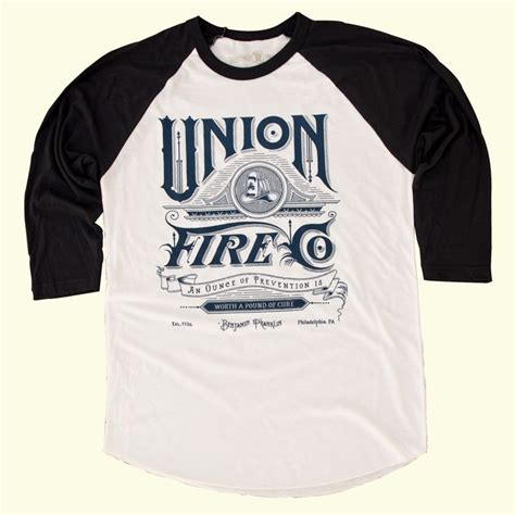Raglan Logo 05 Ordinal Apparel mens union raglan hookandirons the rebirth of