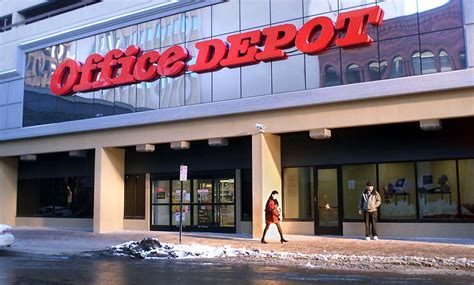 Office Dpot by Office Depot S Brief Foray Into Downtown Duluth News