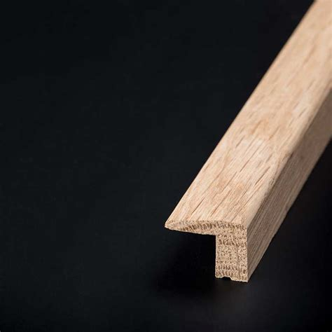 oak l section solid oak l section fitted wood trims spacers online