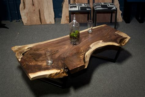 black walnut coffee table black walnut live edge table home design ideas and pictures
