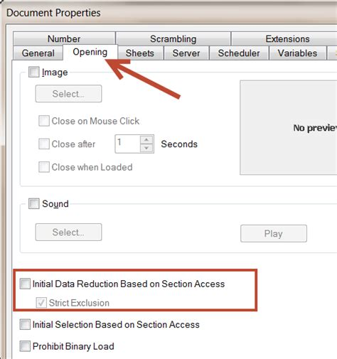 section access architecture in qlikview image gallery section access