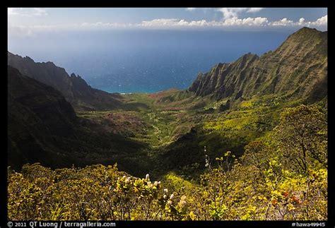 Hawa Acean Colour picture photo kalalau valley and kauai island