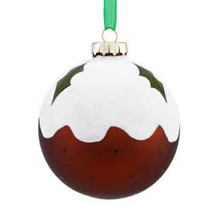 christmas pudding bauble from sainsbury s christmas