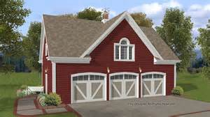 3 Bay Garage Plans Garage Plans Garage Designs At Homeplans Com