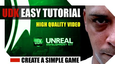 tutorial video game create a game in unreal engine udk hd tutorial 1 easy