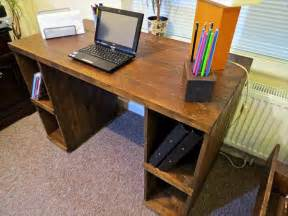 diy desk with storage diy pallet computer desk with storage 101 pallets