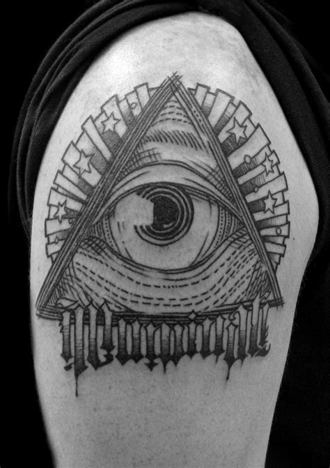 illuminati sleeve tattoo designs illuminati eye images designs