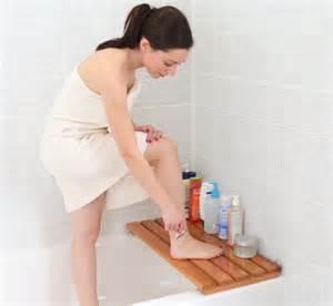 shaving in the bathtub wooden bathtub seat or bath bench butt bench