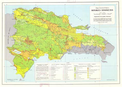 imagenes satelitales republica dominicana mapa geomorfologico republica dominicana esdac