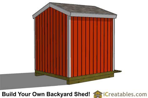 8x8 Storage Shed Plans 8x8 backyard storage shed plans