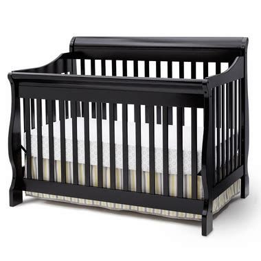 black 4 in 1 convertible crib delta canton 4 in 1 convertible crib in black free shipping