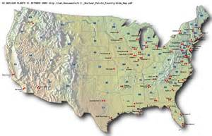 map of us nuclear plants effects of emp on nuke power on radio today page 2