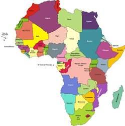 carte afrique plan de l afrique