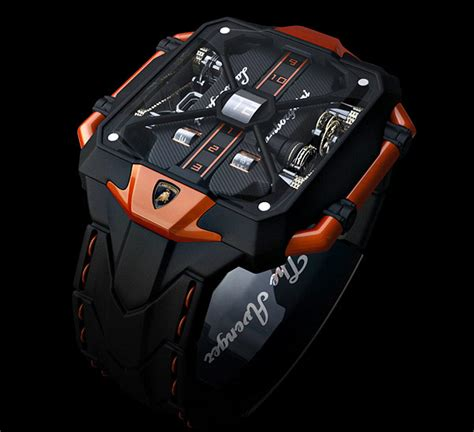 Lamborghini Watch by Marko Petrovic Quot Avenger Quot Lamborghini Watch