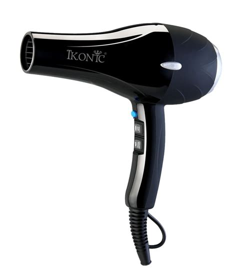 Price Of Hair Dryer Of ikonic hd2000 hair dryer black buy ikonic hd2000 hair