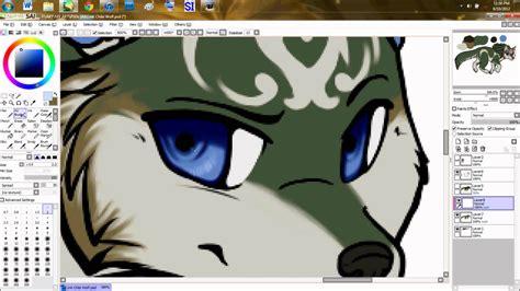 link paint tool sai wolf link chibi speedpaint paint tool sai