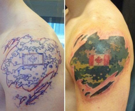 where to buy tattoo camo in canada cadpat shoulder not for me but is cool tattoo ideas