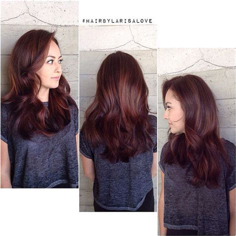 age beautiful hair color light raspberry brown chocolaterasberryhaircolour brown hairs of medium
