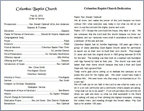 free templates for church bulletins church bulletin templates peerpex