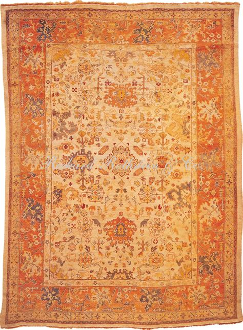 What Is An Oushak Rug by Antique Oushak Rug 9 3 X 12 7 Antique Turkish