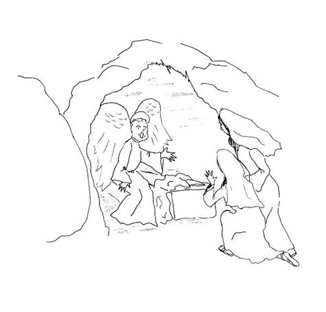 free coloring pages of jesus resurrection