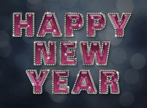 tutorial photoshop new year create a glamorous sparkling new year text effect in adobe