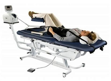 chiropractic traction table new chattanooga ttet 200 traction chiropractic table for
