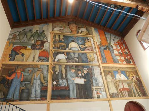 diego rivera mural   art institute  chestnut open