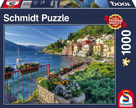 Jigsaw Puzzle Schmidt View On Comder See 1000 Pieces puzzle view of lake como schmidt spiele 58303 1000 pieces