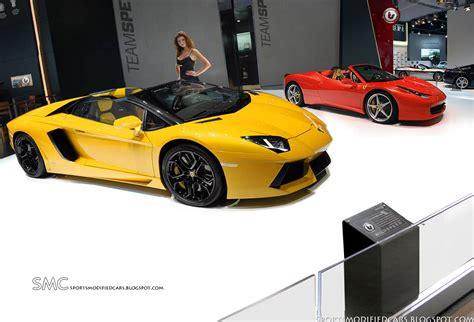 458 Vs Lamborghini Aventador 2012 Lamborghini Aventador Lp700 4 Roadster Vs 458