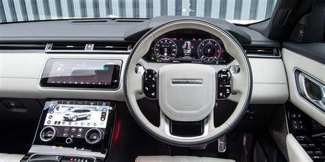 ford range rover interior land rover range rover velar interior infotainment carwow
