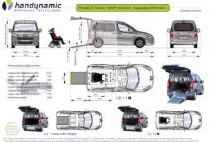 Peugeot Tepee Dimensions Peugeot Partner Dimensions